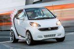 Smart for Jeremy Scott Fortwo Electric Drive EV Vehicle Elektroauto Künstler Designer Flügel Front Seite Ansicht