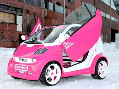 speed box smart fortwo think pink smartfahrer forum. Black Bedroom Furniture Sets. Home Design Ideas