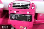 Speed-Box Smart Fortwo Pink Rosa weiß Leder Alcantara Innenraum Interieur Cockpit Sound Musik Anlage
