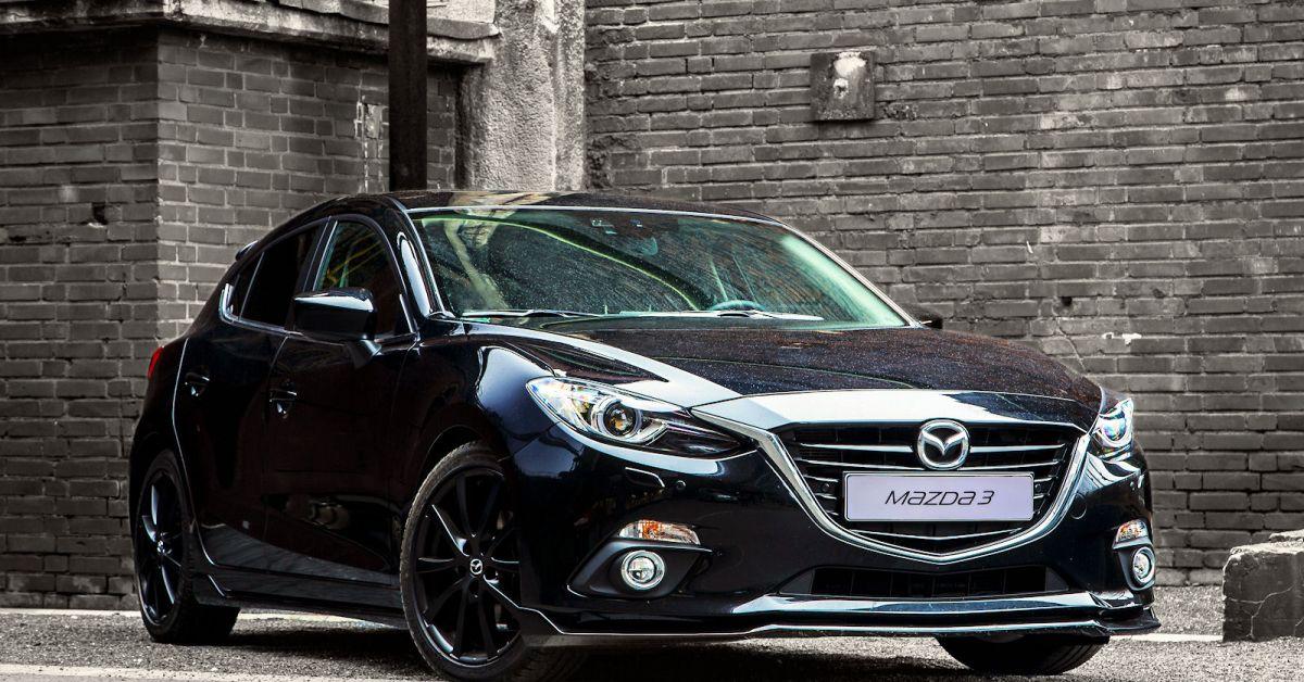 Mazda3 sport zubeh r achtung hei er feger in bewegung for Kuchen direkt ab werk