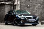 Mazda 3 Sport Zubehör 2015 Kompaktwagen Skyactive Benzin Diesel Frontschürze Seitenschweller Heckspoiler Heckschürze Diffusor Felgen Sport-Endschalldämpfer Tieferlegung Front Seite