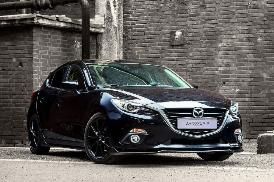 mazda3 sport zubeh r achtung hei er feger in bewegung. Black Bedroom Furniture Sets. Home Design Ideas