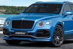 Startech Bentley Bentayga Brabus Tuning Leistungssteigerung 6.0 W12 V12 Performance SUV Widebody Breitbau Tieferlegung Monostar S Felgen Räder Front