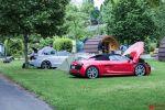 thepluses2 Audi R8 V10 Spyder Audi RS5 Cabrio Sebastian Bauer Can Stuck Roadtrip Alpenpass Serpentinen Route des Grandes Alpes