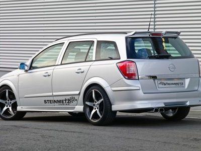 Opel Astra Caravan 2010. Steinmetz Opel Astra H: