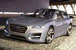 Subaru Advanced Tourer Concept Kombi Lineartronic CVT 1.6 Turbo Boxermotor Allrad Hybrid Elektromotor Confidence in Motion Front Ansicht