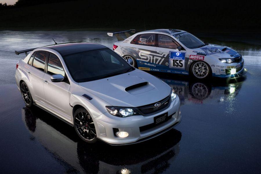 Subaru Impreza Wrx Sti S206 Sondermodell Und Nurburgring Variante Speed Heads