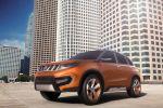 Suzuki iV-4 Concept Kompakt SUV Allgrip Allrad Geländewagen Offroad Cityroader Individualität Personalisierung Front Seite