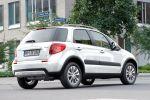 Suzuki SX4 Style Comfort Allrad 4WD 4x4 2WD Crossover Urban Cross Car 1.6 VVT 2.0 DDiS Heck Seite Ansicht