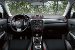 Suzuki Vitara S Kompakt SUV Allgrip Allrad Offroad Boosterjet 1.4 Smartphone MirrorLink CarPlay Interieur Innenraum Cockpit