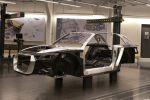 Audi Design Strategie Atelier Produktdesign Crosslane Coupe Concept Crossover Carbon CFK GFK Multimaterial Spaceframe