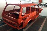 TH Automobile VW Volkswagen 411 Variant Typ 4 Nasenbär Kombi Oldtimer Youngtimer Tuning Leistungssteigerung Porsche Motor Porsche 911 997 Turbo Fuchsfelgen H&R Sportfahrwerk