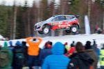 Hyundai i20 WRC World Rally Championship Rallye Weltmeisterschaft Hyundai Motorsport GmbH HMSG Rallye Schweden Thierry Neuville