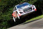 Hyundai i20 WRC World Rally Championship Rallye Weltmeisterschaft Hyundai Motorsport GmbH HMSG Rallye Deutschland Thierry Neuville
