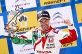 Tiago Monteiro jubelt in Moskau: Honda hat zum zweiten Mal 2015 gewonnen
