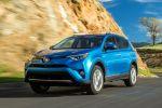 Toyota RAV4 Hybrid Kompakt SUV Facelift 2016 E-Four-Allradsystem Crossover Offroad Geländewagen 2.5 Vierzylinder Benzinmotor Elektromotor Safety Sense Front Seite