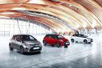Toyota Yaris 2016 Dreizylinder Vierzylinder VVT-i D-4D Hybrid Turbodiesel Kleinwagen Facelift Lounge Style Front Seite
