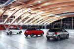 Toyota Yaris 2016 Dreizylinder Vierzylinder VVT-i D-4D Hybrid Turbodiesel Kleinwagen Facelift Lounge Style Heck Seite