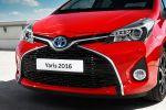 Toyota Yaris 2016 Dreizylinder Vierzylinder VVT-i D-4D Hybrid Turbodiesel Kleinwagen Facelift Lounge Style Front