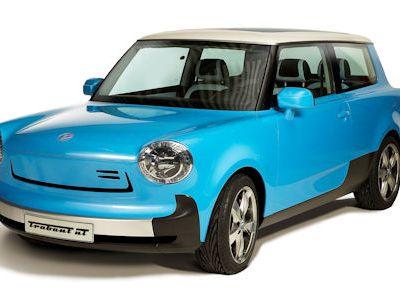Trabant nT Concept: Unverwechselbar ein moderner Elektro-Trabi