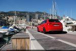 Audi RS3 Sportback Test - Heck Ansicht hinten seitlich Seite Monaco Yacht Hafen