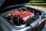 Rolls-Royce 102 EX Test - Motorhaube Motorraum Motor Elektro Batterien Antrieb Öko Laden