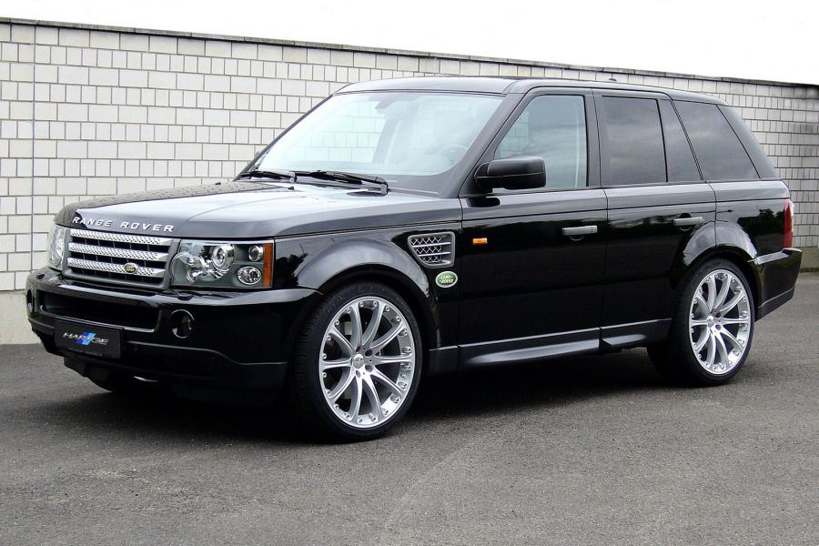hartge range rover nur die hartgen kommen in den garten speed heads. Black Bedroom Furniture Sets. Home Design Ideas
