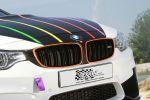 TVW Car Design BMW M4 DTM Champion Edition 2014 Tuning Leistungssteigerung Marco Wittmann Deutsche Tourenwagen Masters Ice Watch Sportwagen 3.0 TwinPower Turbo Reihensechszylinder M Performance Front