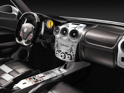 2009 Unique Sport Cars Ferrari F430 Cavalera Dasboard