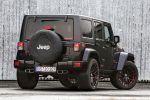 US66 Jeep Wrangler Rubicon HPE430 Hennessey Performance Kompressor 3.6 Pentastar V6 Offroad Geländewagen Tuning Leistungssteigerung Sportabgasanlage Auspuffanlage Gewindefahrwerk Heck Seite