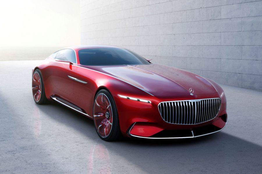 Vision Mercedes Maybach 6 Die Zukunft Fast 6 Meter Auto
