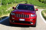 jeep grand cherokee srt test - 6.4 v8 performance sport suv offroad geländewagen front ansicht