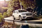 Volvo XC90 2015 Oberklasse SUV Premium Ruggey Urban Luxury Drive-E-Motoren Plug-in-Hybrid T8 T6 T5 D5 Biturbo Tablet Touchscreen Android Run Off Road Protection City Safety BLIS Front Seite