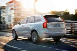 Volvo XC90 2015 Oberklasse SUV Premium Ruggey Urban Luxury Drive-E-Motoren Plug-in-Hybrid T8 T6 T5 D5 Biturbo Tablet Touchscreen Android Run Off Road Protection City Safety BLIS Heck Seite