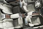 Volvo XC90 Excellence 2015 Oberklasse Luxus SUV Premium Drive-E-Motoren Plug-in-Hybrid Interieur Innenraum Fond