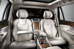 Volvo XC90 Excellence 2015 Oberklasse Luxus SUV Premium Drive-E-Motoren Plug-in-Hybrid Interieur Innenraum Fond Rücksitze