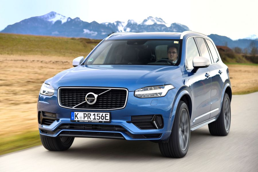 volvo xc90 t8 twin engine 2016 test hammer attacke mit 407 ps speed heads. Black Bedroom Furniture Sets. Home Design Ideas