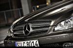 Mercedes CLS 500 Test - Front Ansicht vorne Kühlergrill Frontscheinwerfer