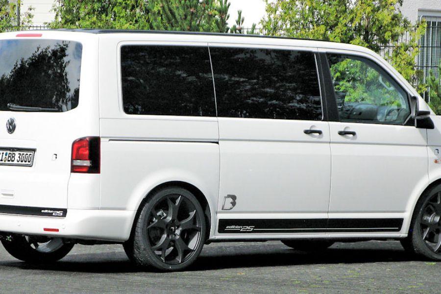 b b vw t5 multivan mit 320 ps zum gro raum sportler. Black Bedroom Furniture Sets. Home Design Ideas