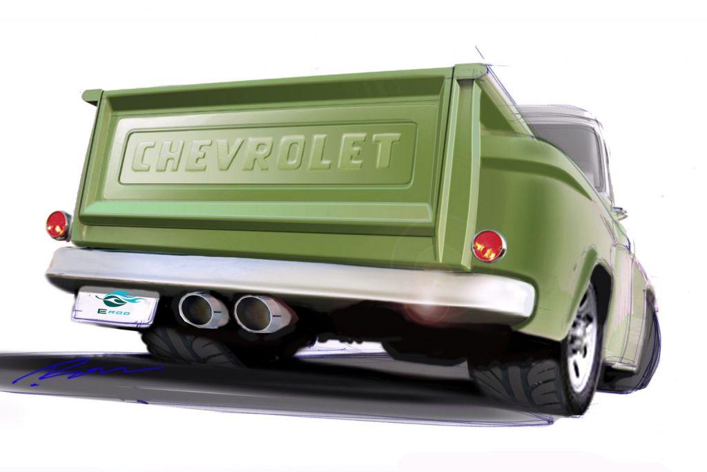 Chevrolet E Rod Ls3 Pickup Klassische V8 Replika F 252 R