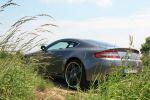 Cargraphic Aston Martin V8 Vantage 420 Test - Heck Seite Ansicht hinten seitlich Felge Ansicht hinten