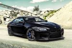 Vorsteiner BMW M6 Black Sapphire  Coupe 6er 4.4 V8 TwinPower Turbo Biturbo Special Edition Forged VSE-003 Front Seite