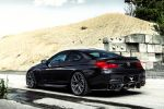 Vorsteiner BMW M6 Black Sapphire  Coupe 6er 4.4 V8 TwinPower Turbo Biturbo Special Edition Forged VSE-003 Heck Seite