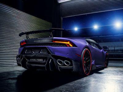 Vorsteiner Novara Lamborghini Huracan 5.2 V10 Supersportwagen Tuning Bodykit Aerodynamik Kit Carbon Vorsteiner V-FF 105 Flow Forged Schmiederäder Felgen