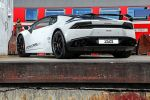 VOS Lamborghini Huracan Vision of Speed 5.2 V10 Supersportwagen Tuning Carbon Heck Seite