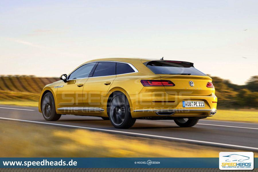 VW Arteon Usa >> VW Arteon Shooting Brake: 400 PS! Das geht nach hinten los - Speed Heads
