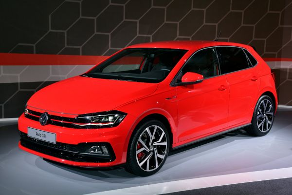 vw polo gti 2018 erste live fotos und der erste check. Black Bedroom Furniture Sets. Home Design Ideas
