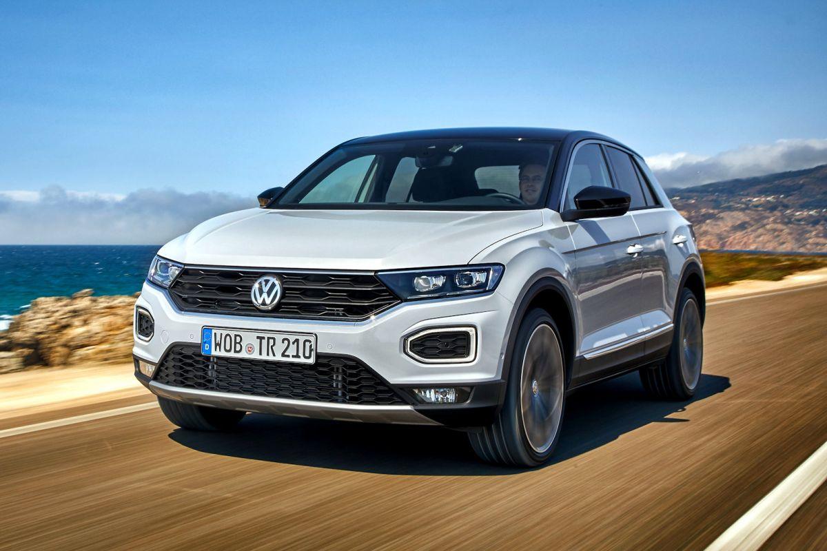 VW T Roc Test Die erste Fahrt sorgt für eine überraschung Speed Heads