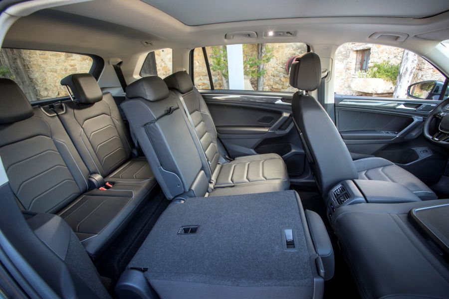 vw tiguan allspace test der biturbo mit dem extra raum speed heads. Black Bedroom Furniture Sets. Home Design Ideas