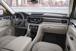VW Volkswagen Atlas 2017 Midsize SUV Vierzylinder Benziner TSI VR6 4Motion Allradantrieb Car-Net Smartphone App-Connect Konnektivität Android Auto Apple CarPlay MirrorLink Internet Active Info Display Digital Cockpit Interieur Innenraum